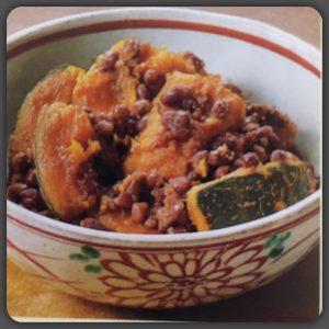 いとこ煮(かぼちゃと小豆の煮物)