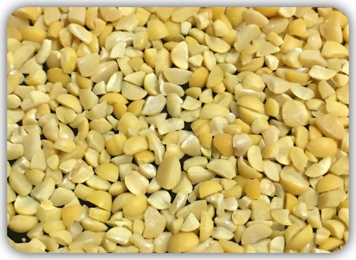 挽き割り大豆