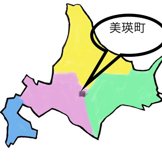 北海道の美瑛の位置
