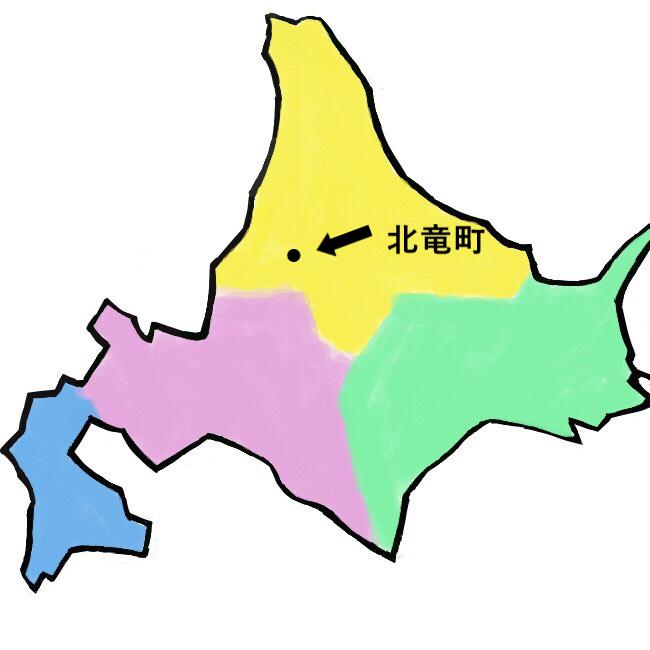 北海道北竜町地図