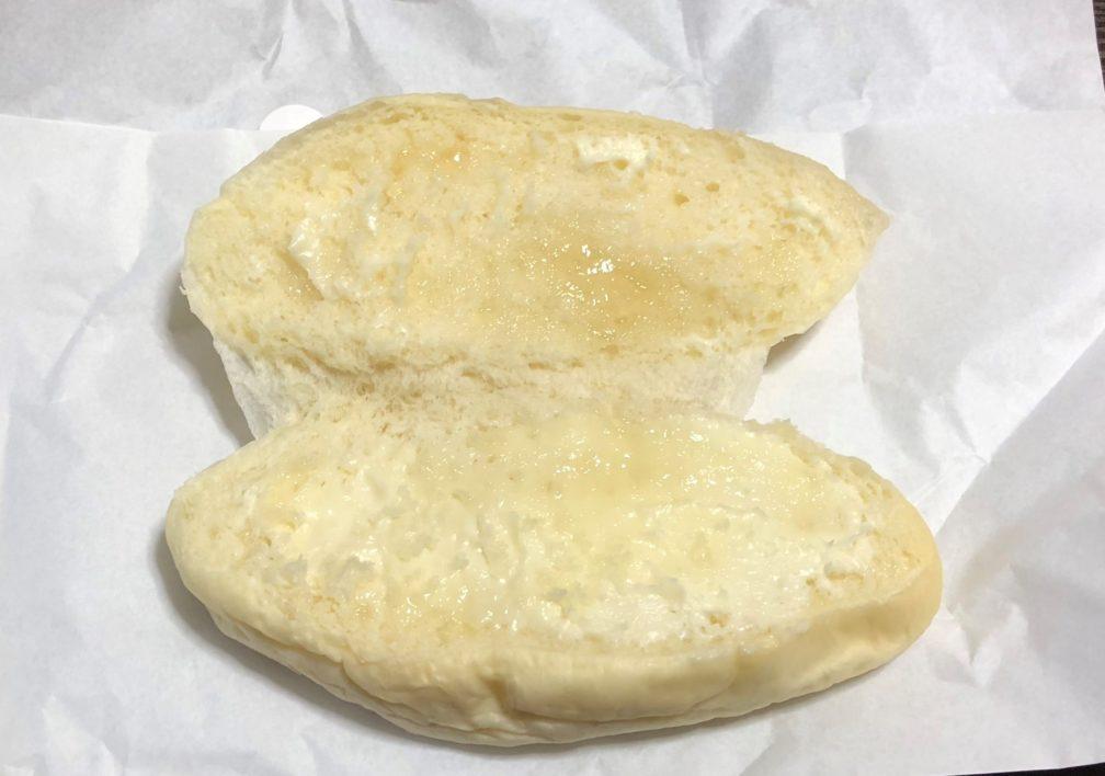 開いたコッペパン