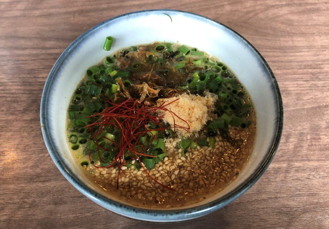 飛燕のつけ麺のスープ