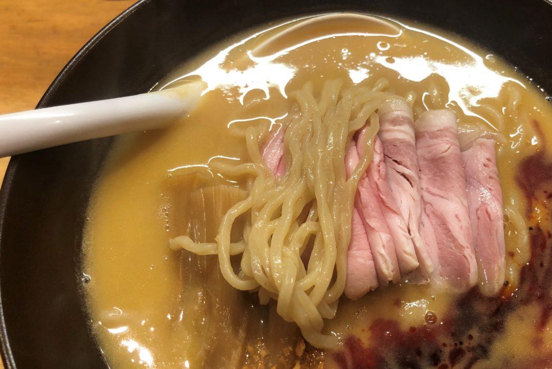 ふじやNOODLEの味噌ラーメン