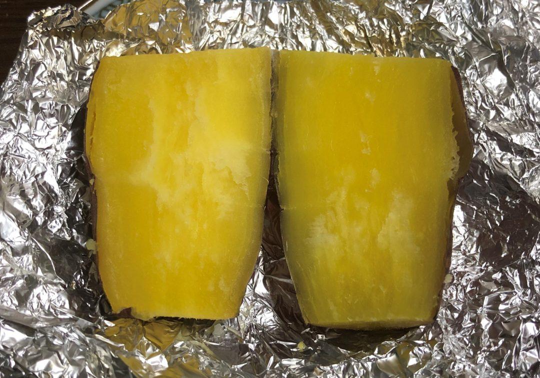 焼き芋ハーフカット