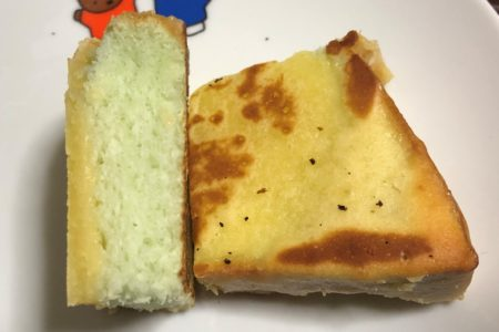 カットしためろん食パン