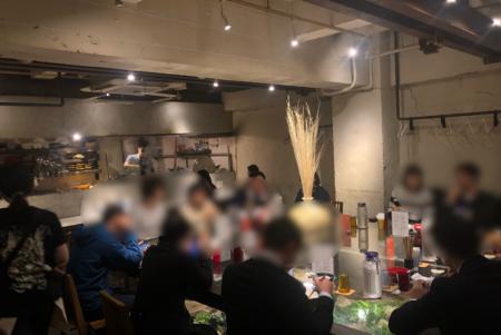 JAPANESE RAMEN NOODLE LAB Q(ジャパニーズラーメンヌードルラボQ)の店内