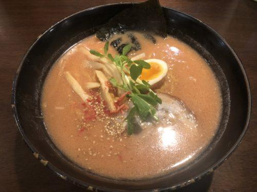 麺屋 慶のコク深い海老みそラーメン