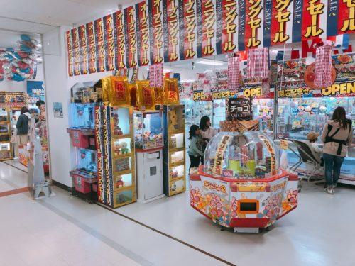 メガドンキ札幌篠路のゲームコーナー