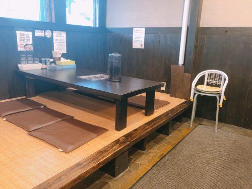 翔ちゃん家のテーブル席