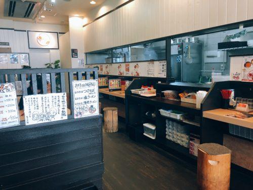 札幌海老麺舎の店内