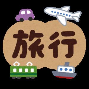 旅行の文字