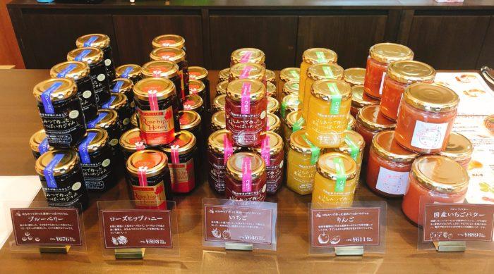 ルミトロン札幌円山店のジャム売場