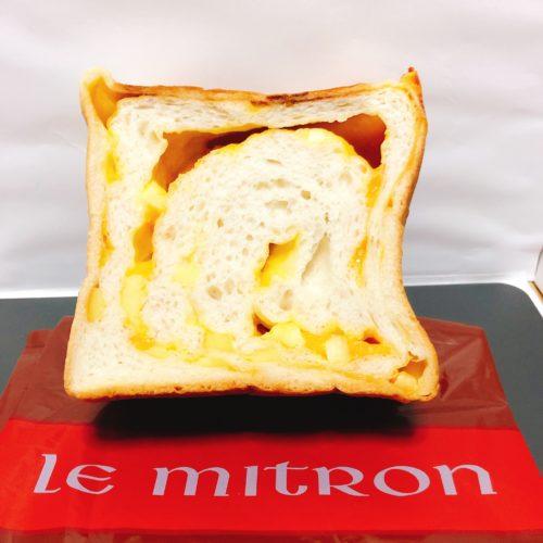 ルミトロンのチーズ食パン