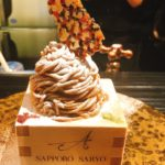 賞味期限が15分?夜のモンブラン「SAPPORO SARYO ASAMI ABO」インスタ映えもあり!