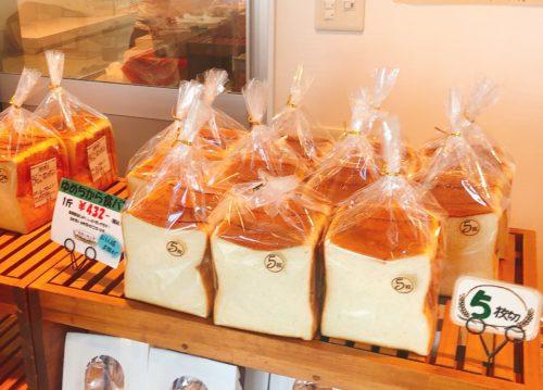 美瑛選果の本店の食パンん