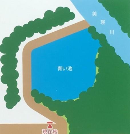 「美瑛 青い池」の地図
