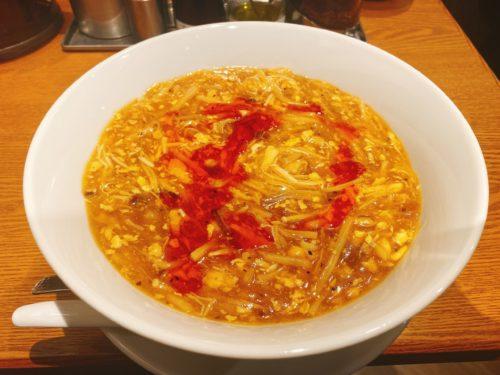 銀座 蝋燭屋札幌店の酸辣湯麺