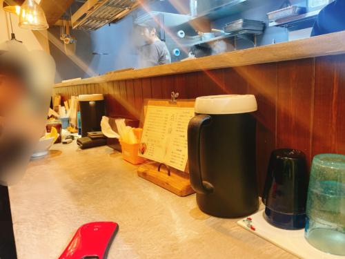 札幌 『点と線』狸小路店のカウンター席