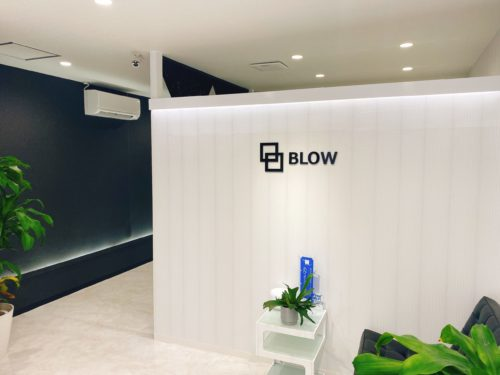 BLOW(ブロウ)の待合室