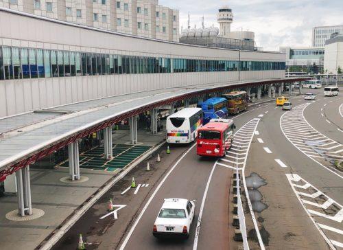 新千歳空港 ロータリー