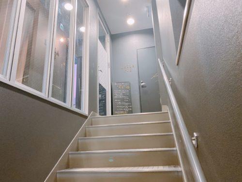 ラウラピエ大通店に行く階段途中